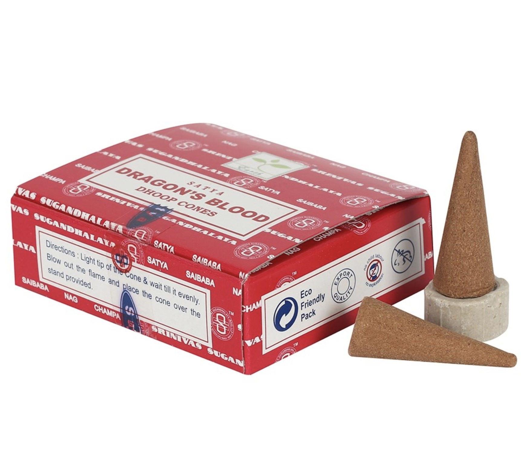 Dragons' Blood Dhoop cones Satya