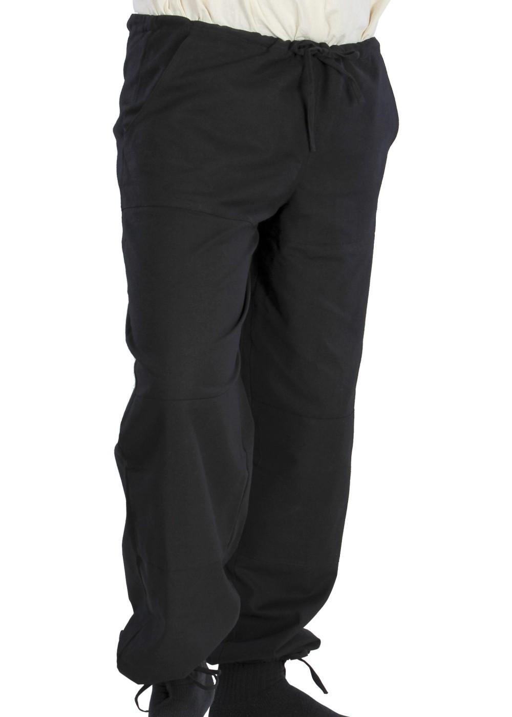 Keskiaikaiset housut musta