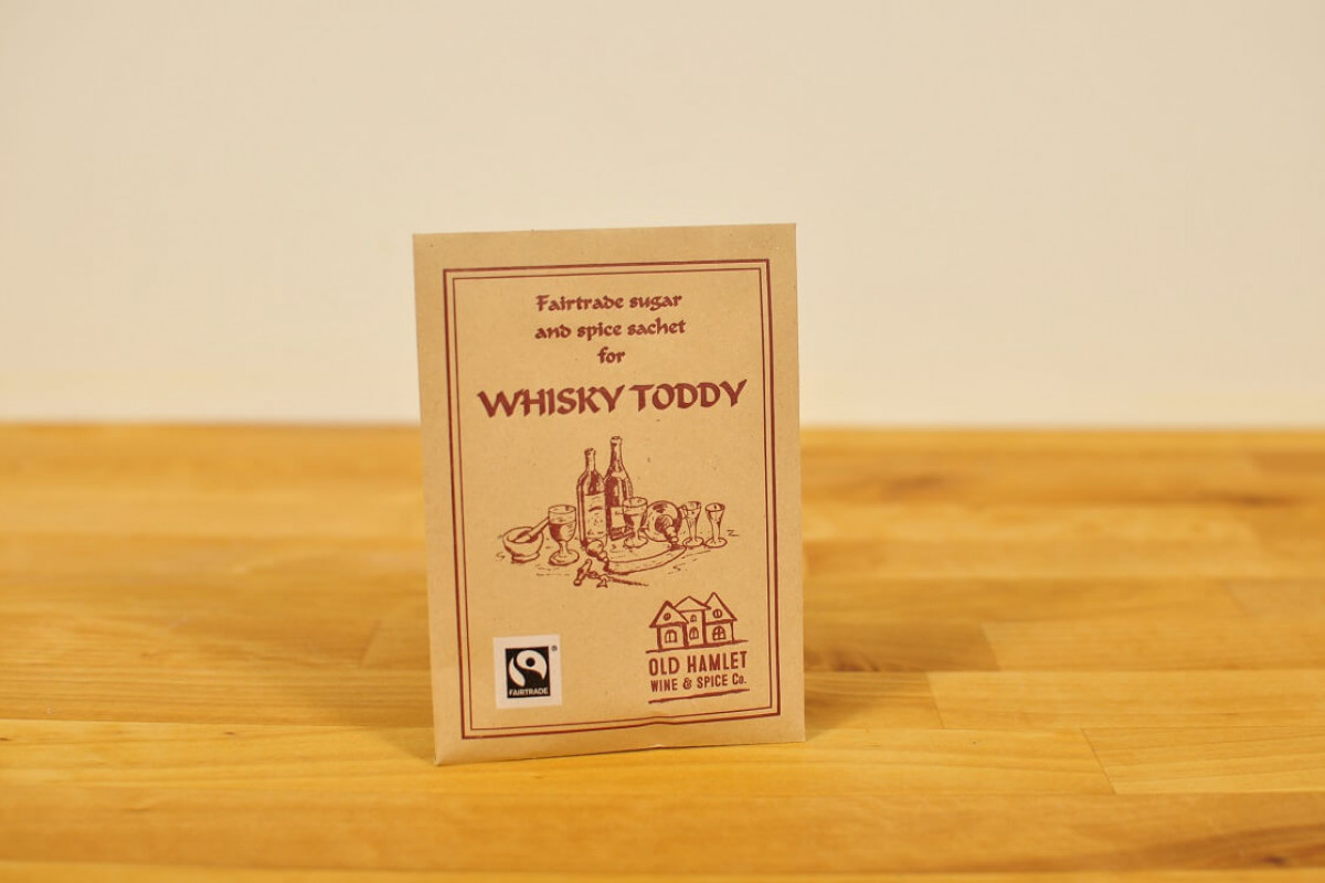 Viskitoti mausteseos, Fairtrade Whisky Toddy Spice Mix - Single Serve