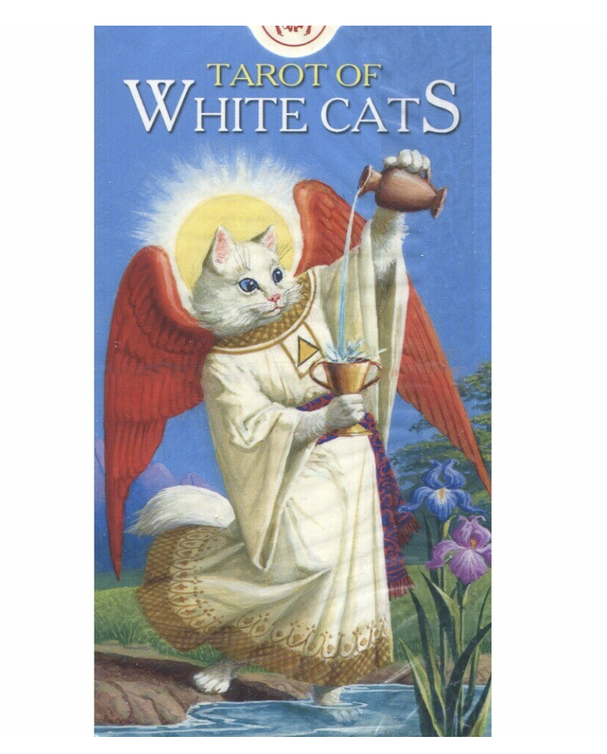 Tarot of White Cats pakka