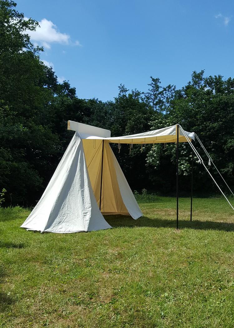 Saxon Trade tent 4 x 2.5 m, natural colour, 425 gsm