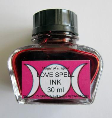 Sulkakynän muste - Love spell