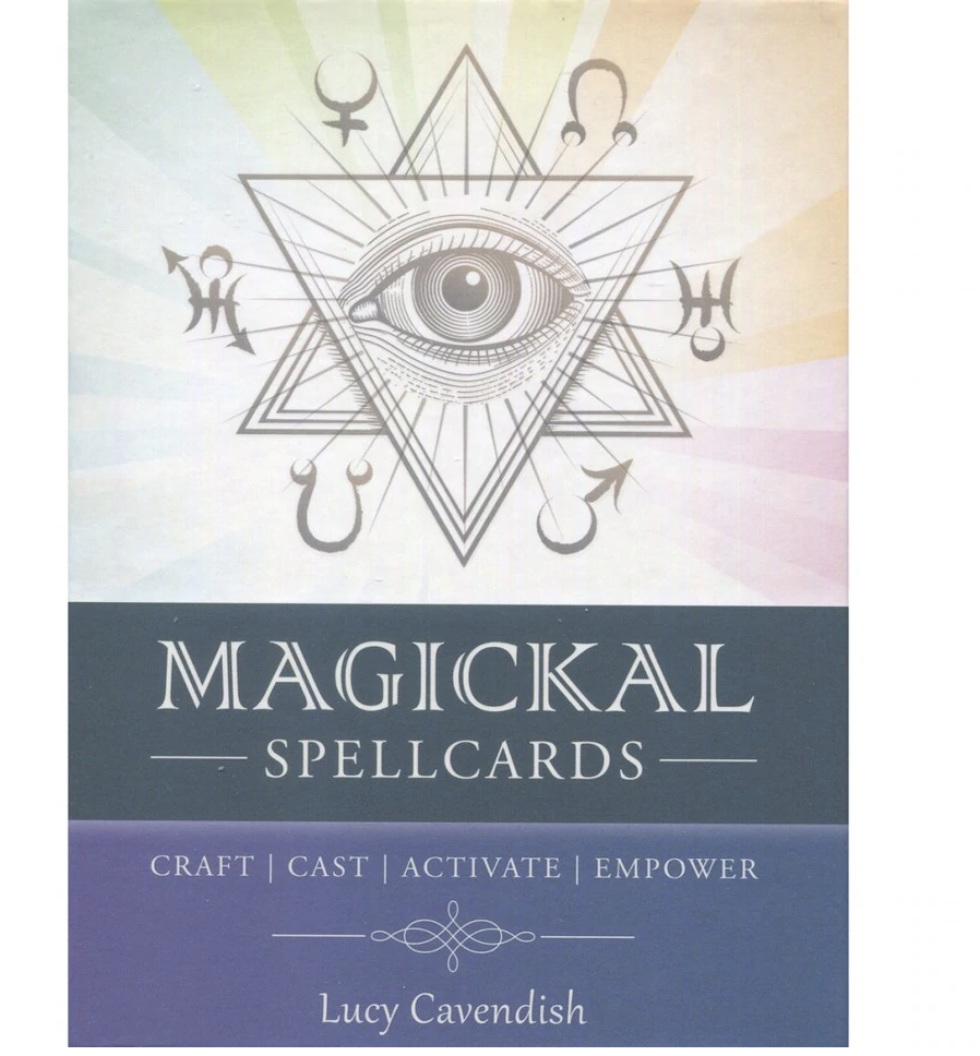 Magical Spellcards by Lucy Cavendish korttipakka