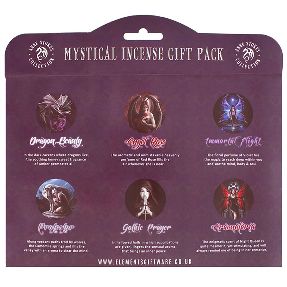 Mystical Incense Stick Gift Pack by Anne Stokes suitsuke