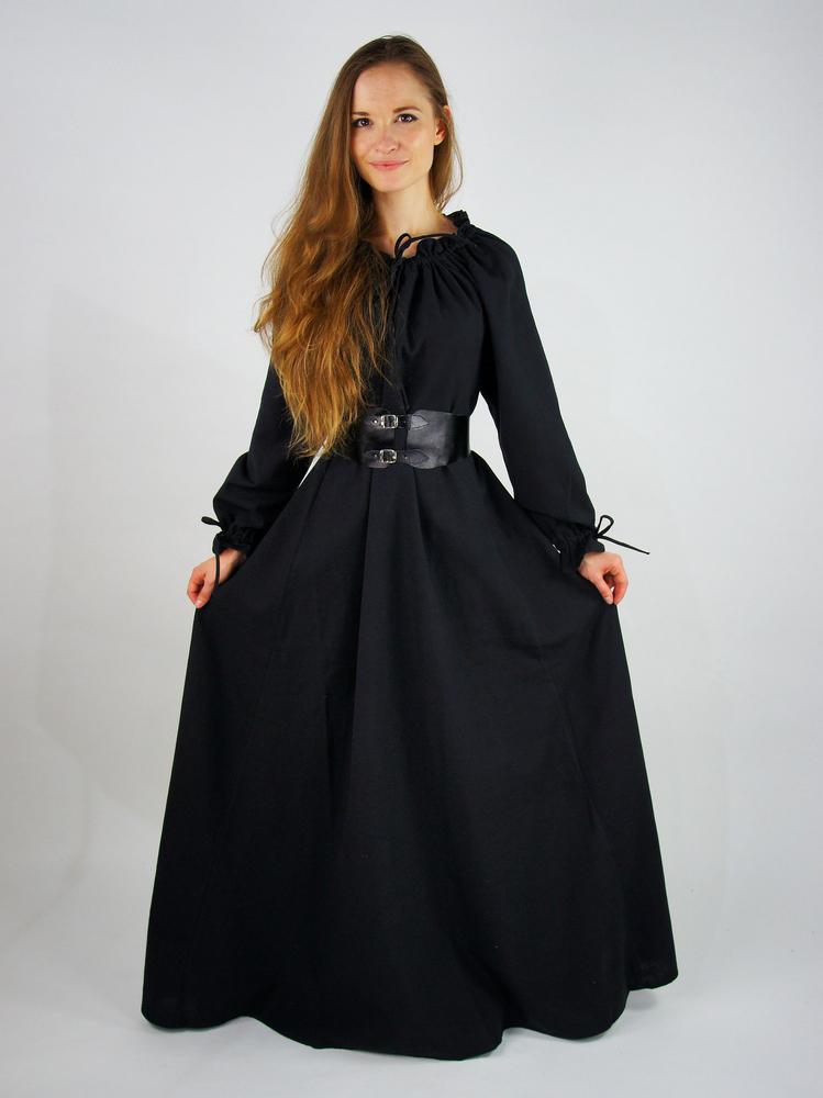 Täyspitkä pitkähihainen mekko Mechthild