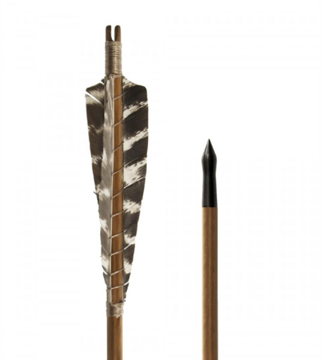 Nuoli Medieval Practice Arrow, 11/32, 30 inches