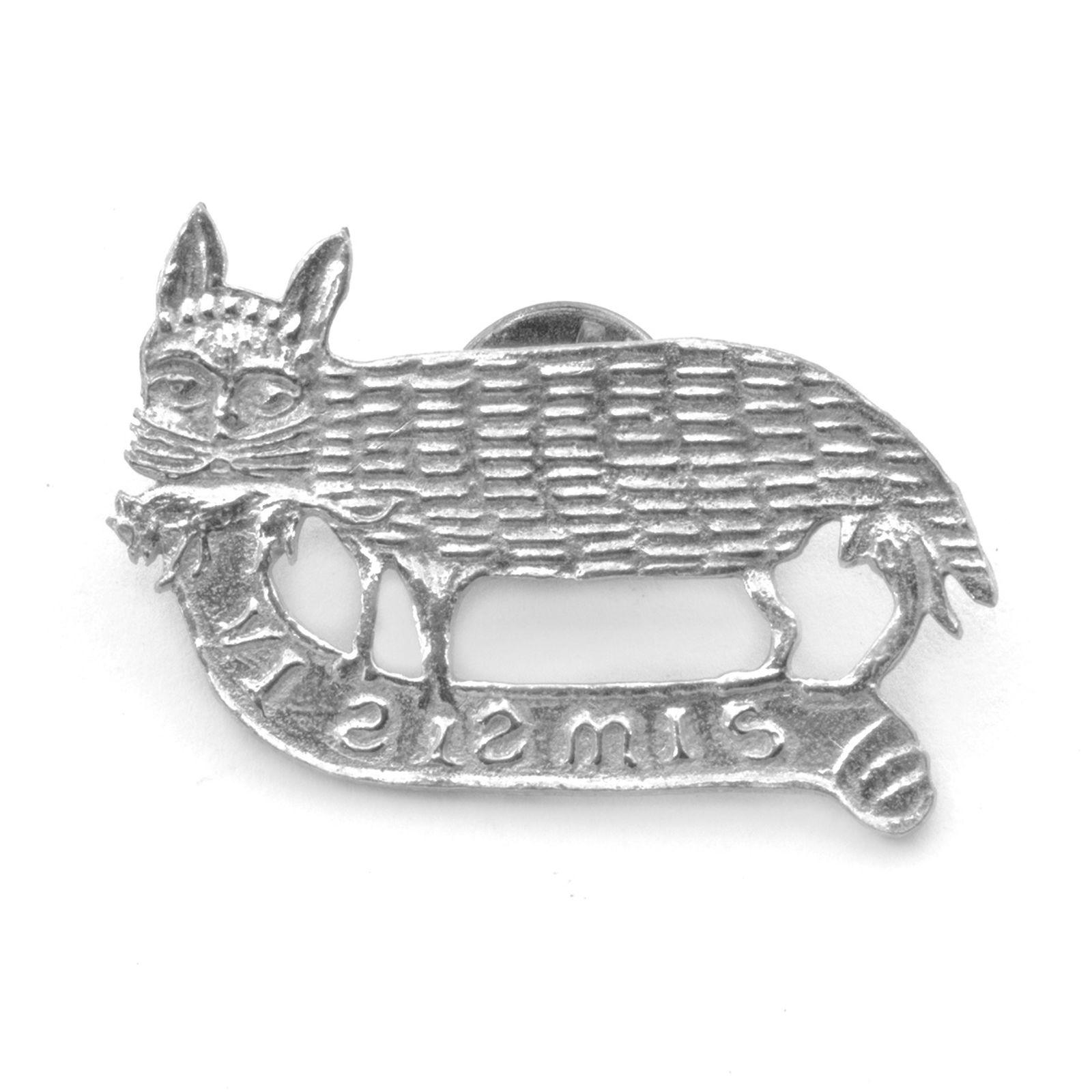 Kissa ja hiiri 1400 luku tinapinssi