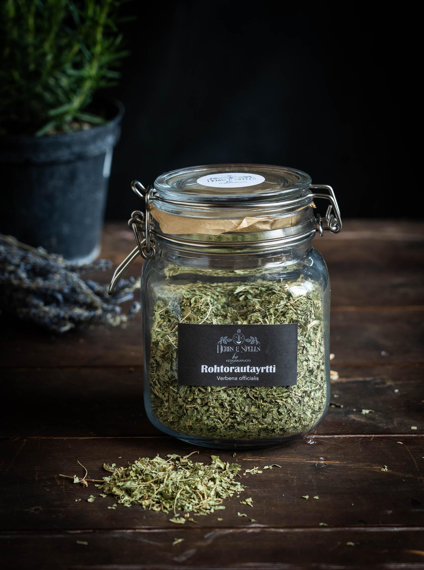 Rohtorautayrtti - Verbena officialis (Herbs & Spells by keskiaikapuoti)