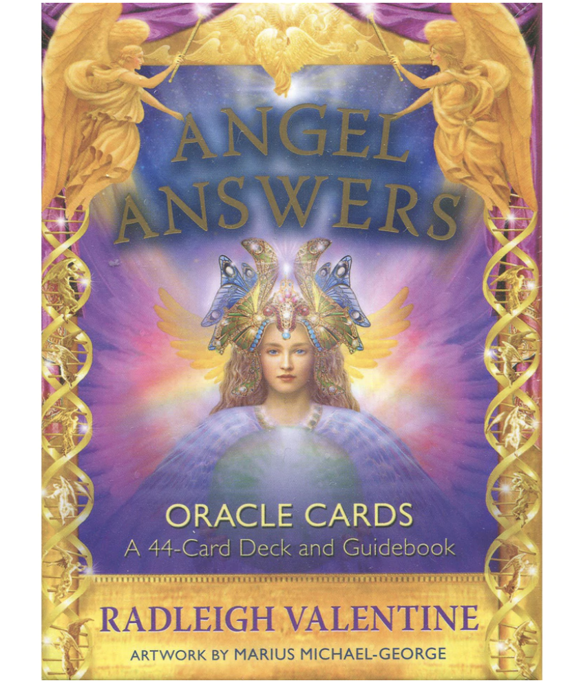 Angel Answers Oracle cards by Radleigh Valentine tarot