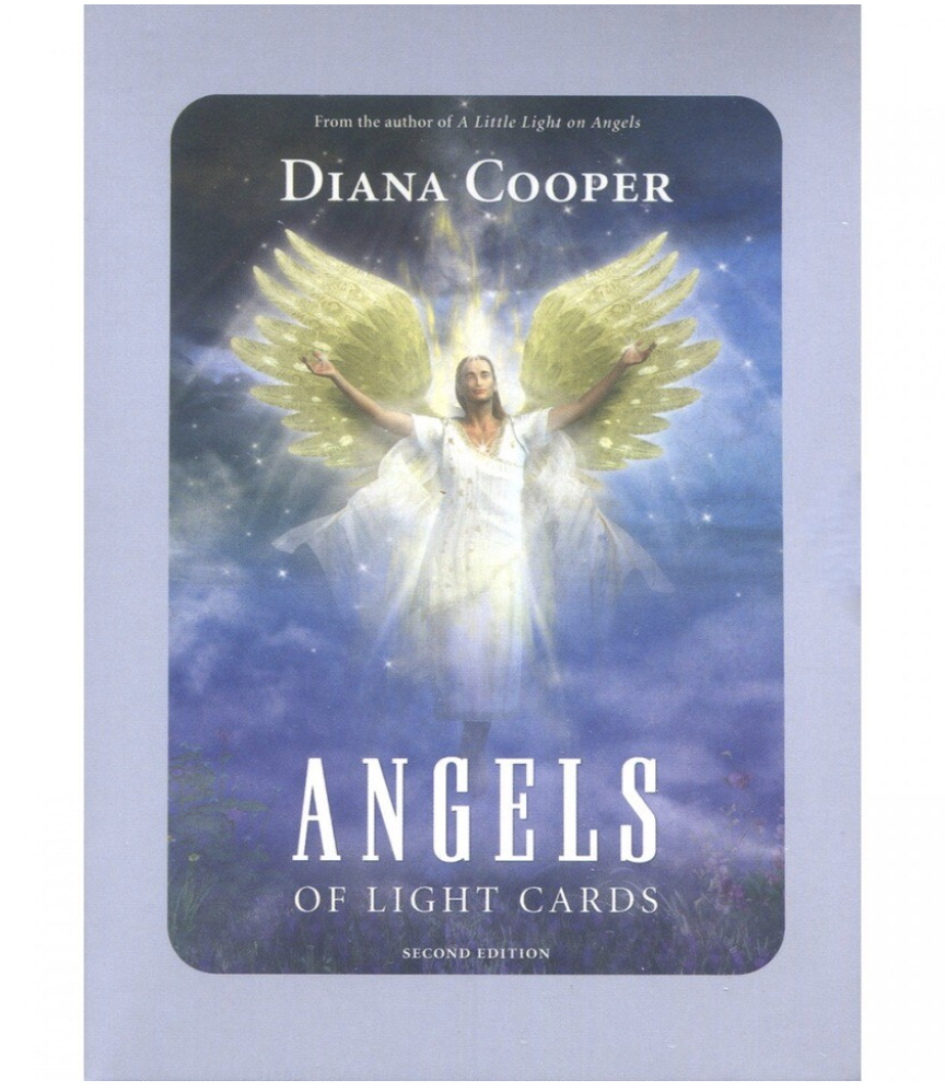 Angels Of Light -kortit (2. painos) - Diana Cooper