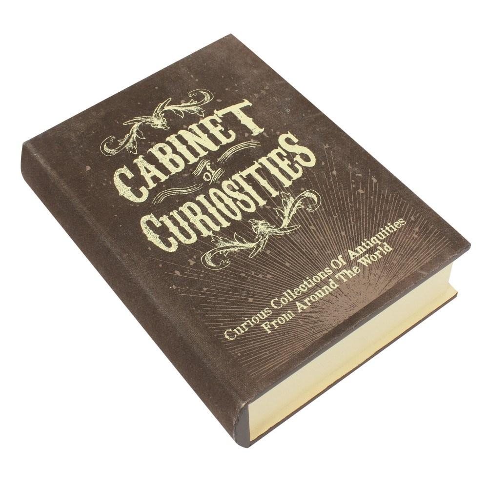 Cabinet of curiosities säilytyslaatikko kirja