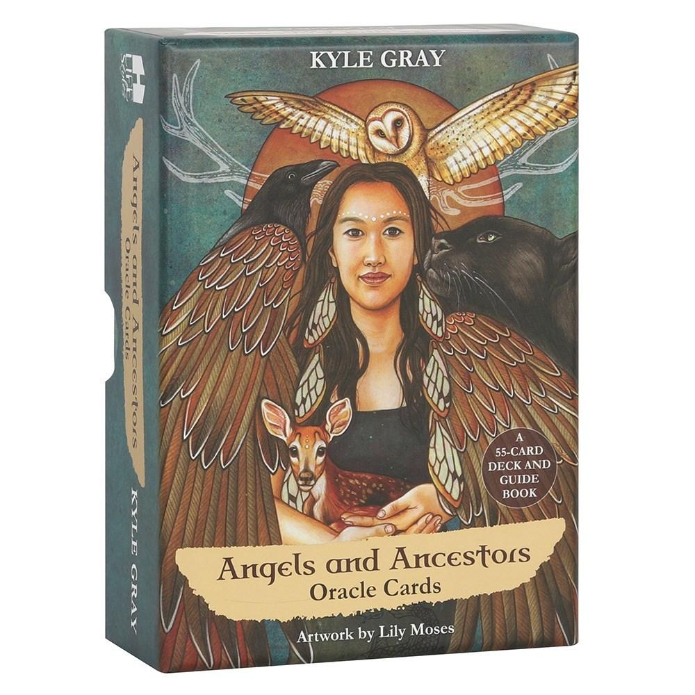 Angels and Ancestors Oracle korttipakka tarot
