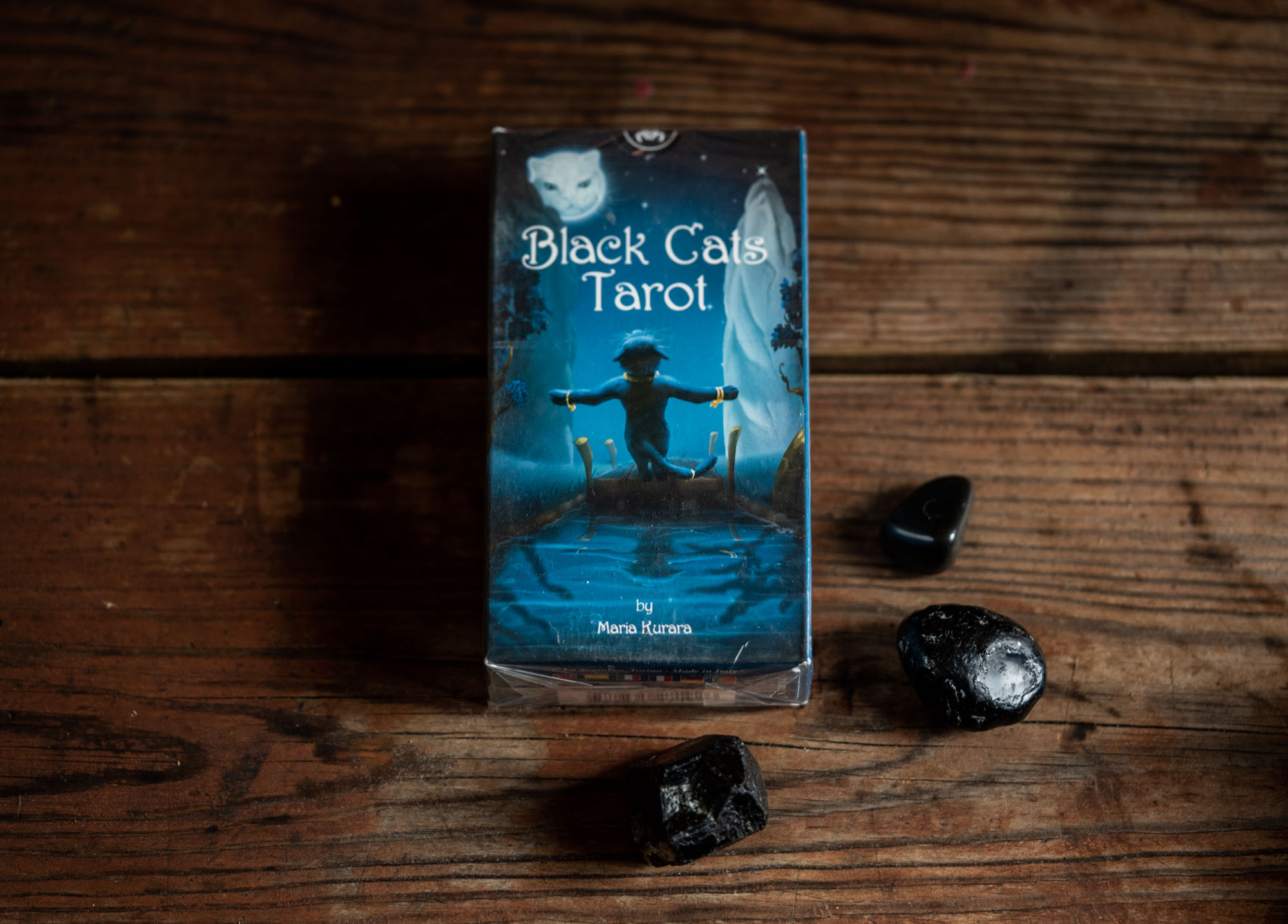 BLACK CATS TAROT -kortit