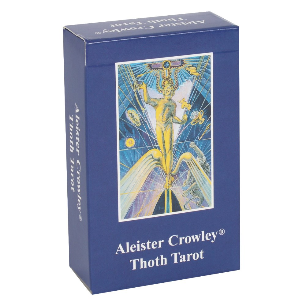 Alesteir Crowley Thoth tarot pakka