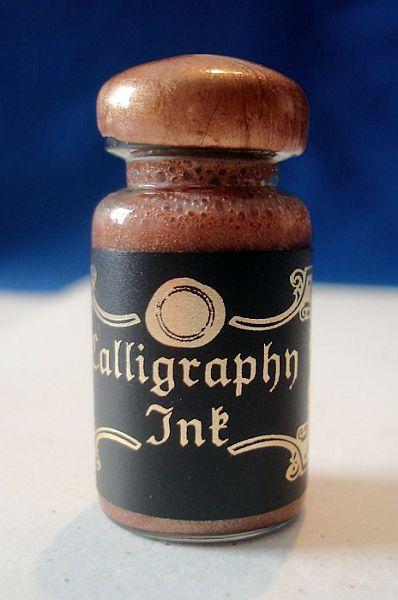 Sulkakynän muste kuparin värinen copper
