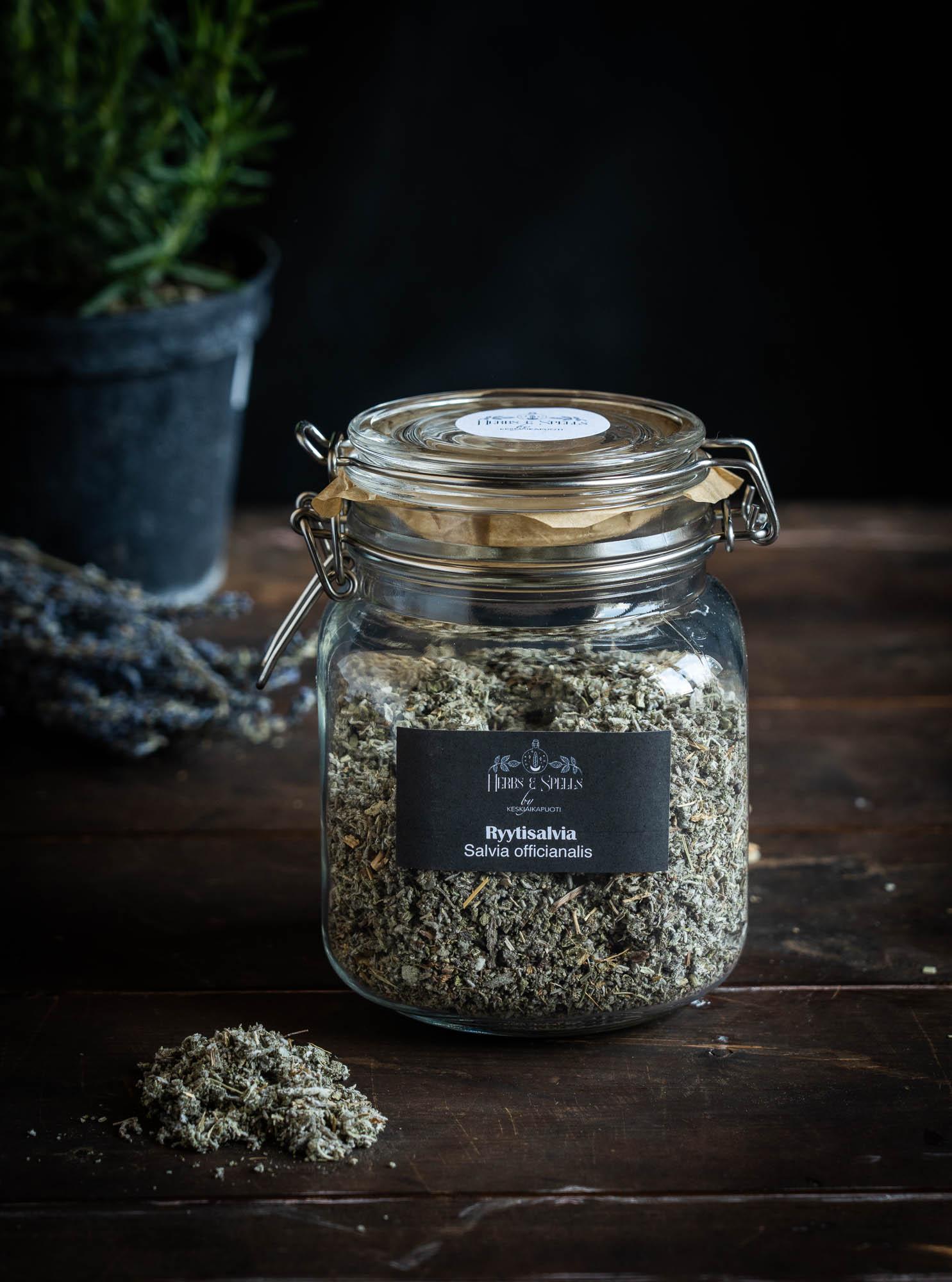 Ryytisalvia - Salvia officianalis (Herbs&Spell by keskiaikapuoti)