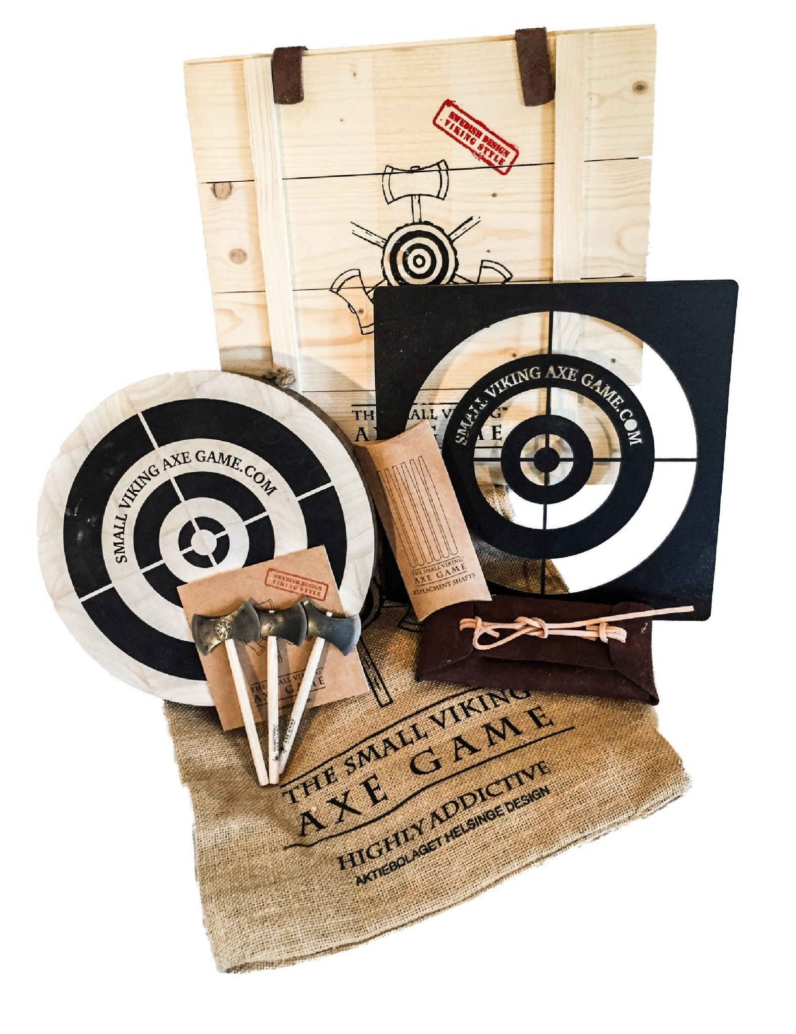 Small Viking Axe Game premium set