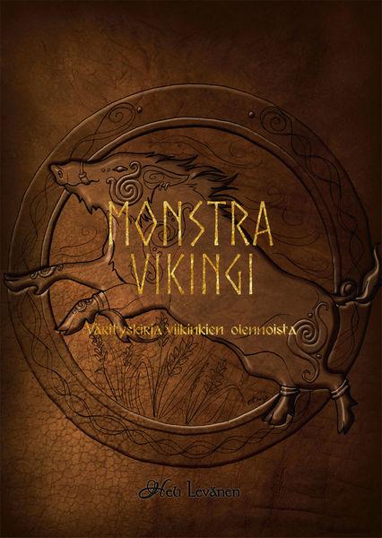 Monstra Vikingi - Värityskirja viikinkien olennoista Heli Levänen
