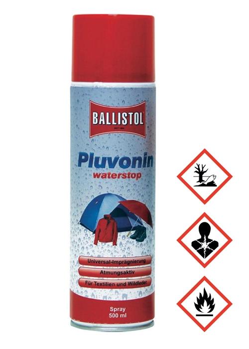 Ballistol Pluvonin vettähylkivä kyllästysaine 500 ml spray