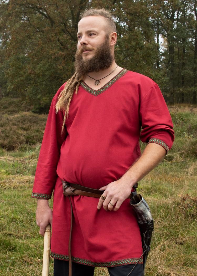 Puuvillainen viikinki tunika