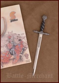Kirjeen avaaja, temppeliritarin miekka miniatyyri
