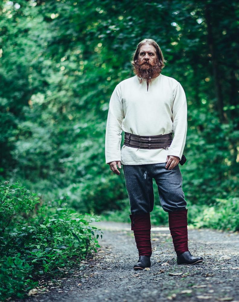 Viikinkihousu Harald villaa