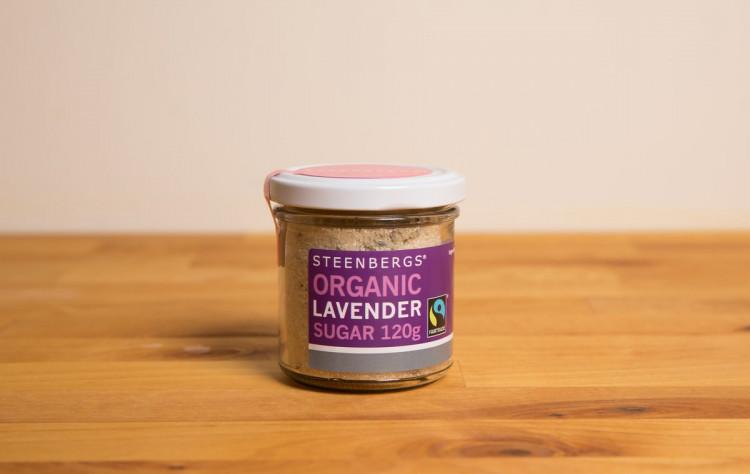 Steenbergs laventelisokeri, 120g