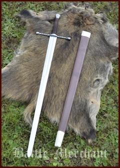 Bastard miekka huotralla, practical sword blunt, SK-B