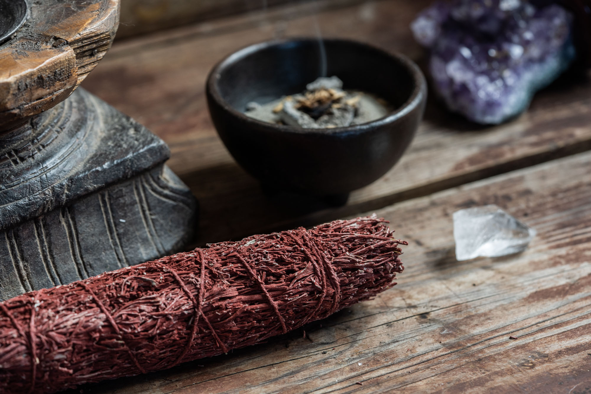 DRAGON'S BLOOD SMUDGE STICK 25cm