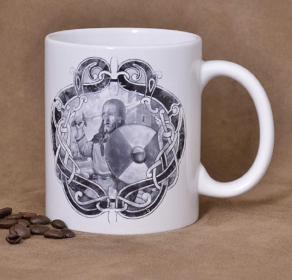 Viikinkikiertue kahvikuppi