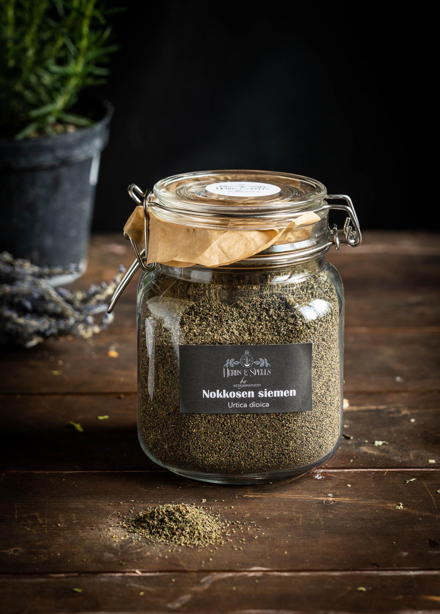 Nokkosen siemen - Urtica dioica (Herbs&Spell by keskiaikapuoti)