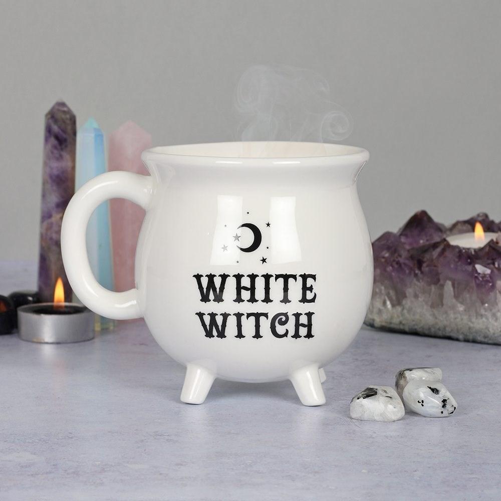 White Witch, Valkeanoita-kahvikuppi