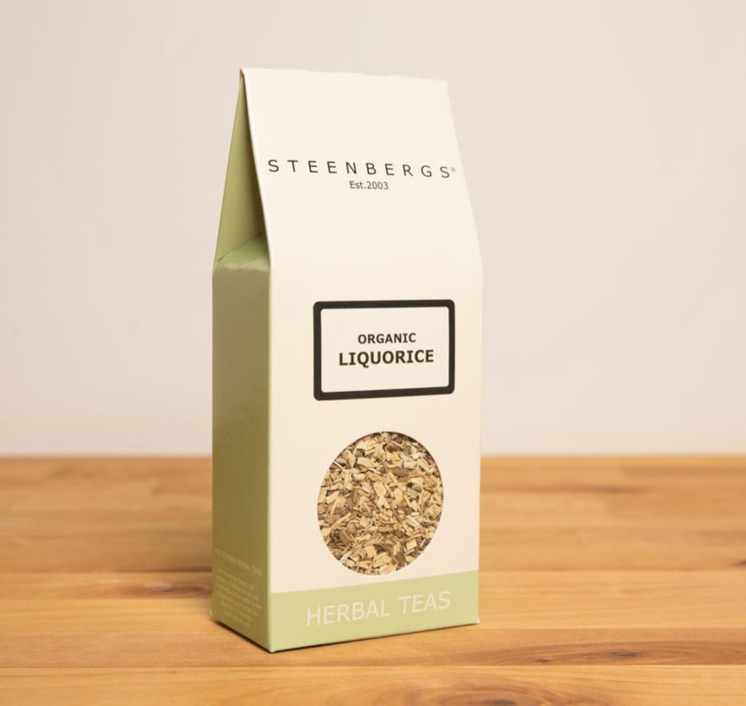 Steenbergs organic liquorice - lakritsitee 100g