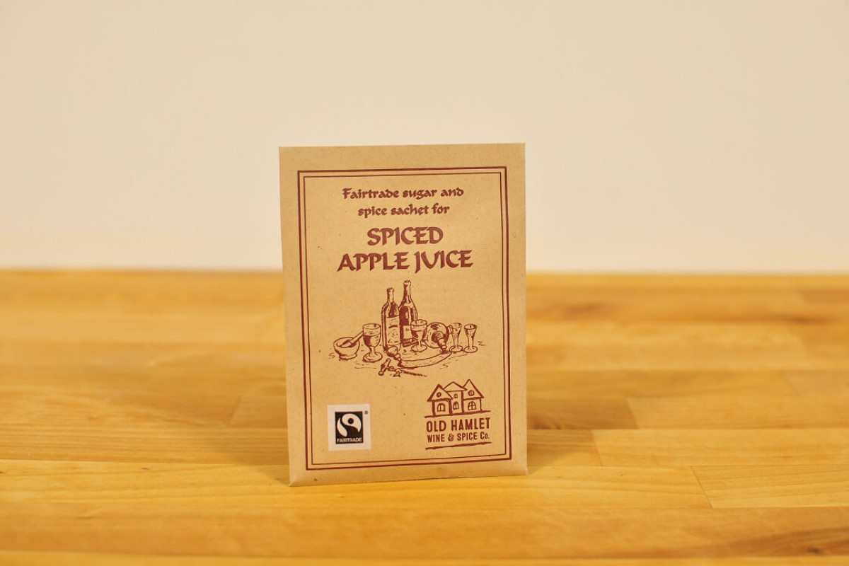 Lämmitetty mausteinen omenamehu, Fairtrade Spices For Spiced Apple Juice - Single Serve details and description