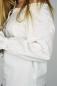 Keskiaikainen valkoinen naisen pusero, pitsi somistein LC