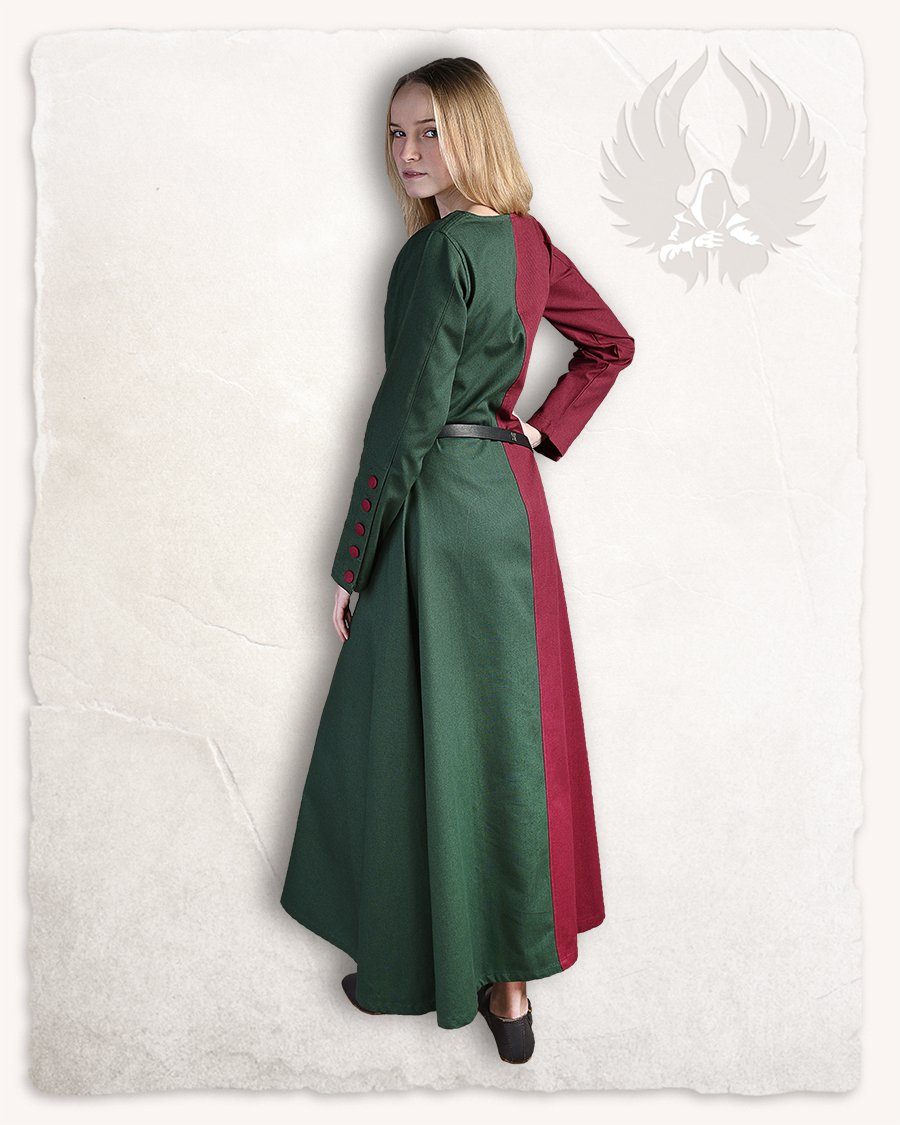 Helena kaksivärinen mekko