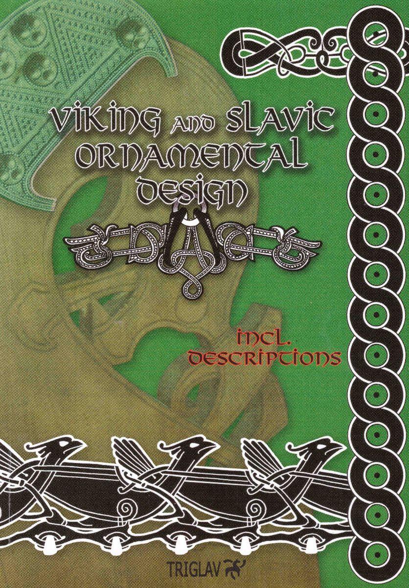 Viking and Slavic Ornamental Design vol.1 - kirja