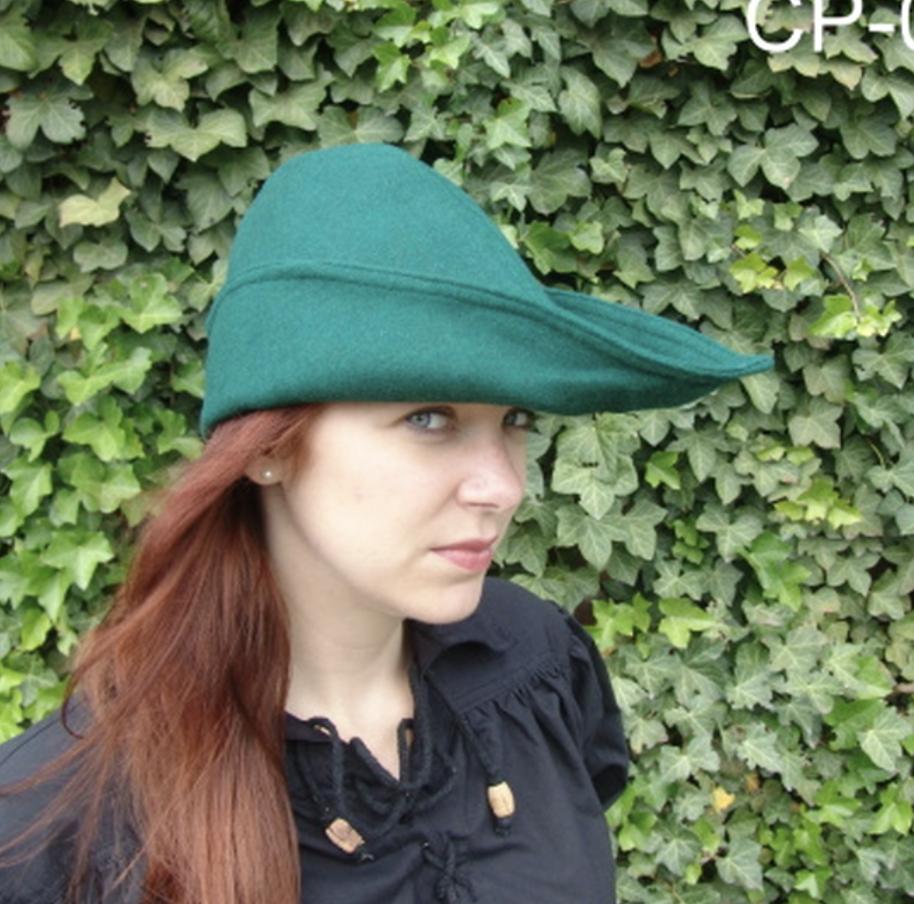 Robin Hood hattu, villaa