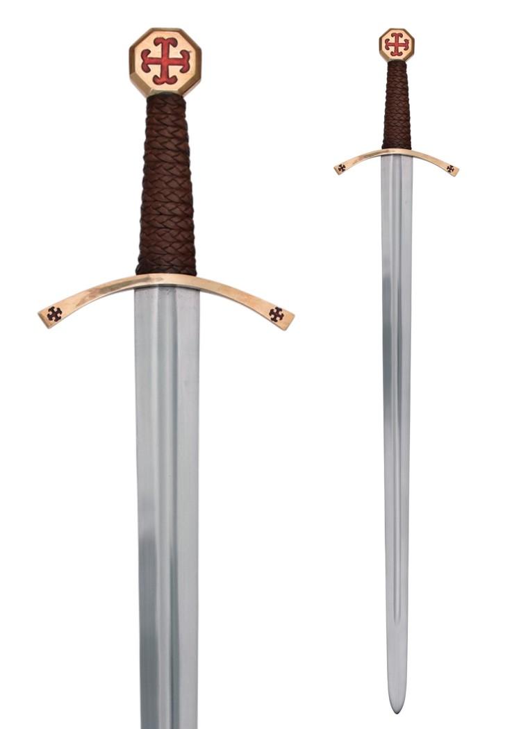 Temppeliritarin miekka huotralla