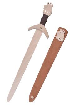 Pikkuritarin miekka Löwenstein, puumiekka