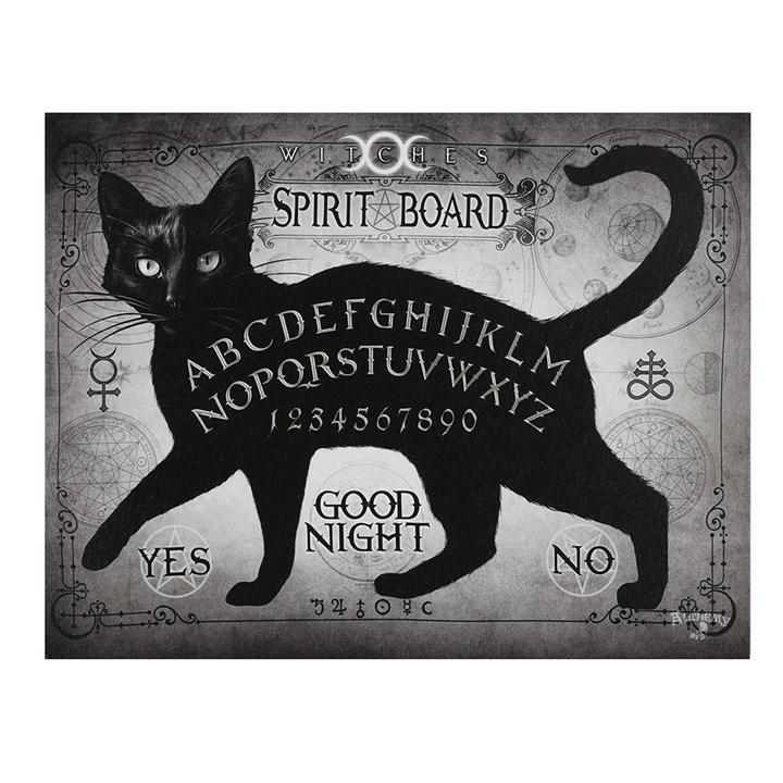 Black Cat Spirit board canvastaulu by Alchemy