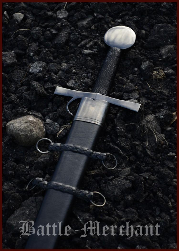 Myöhäiskeskiaikainen miekka Milanosta n.1432 AD