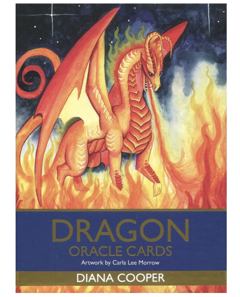 Dragon Oracle Cards - Diana Cooper tarot