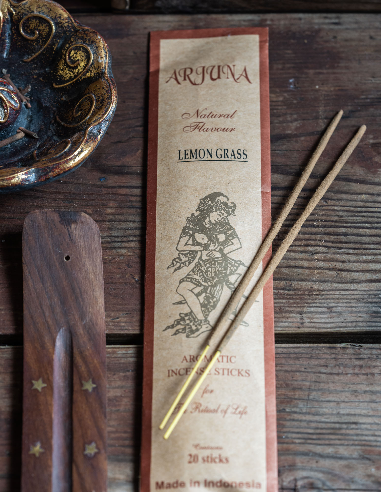 Arjuna Natural Flavour -suitsuke, Lemon grass