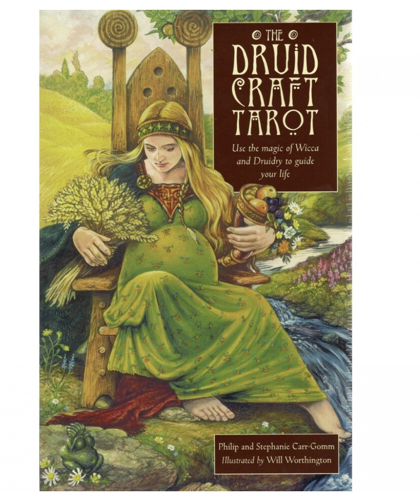 Kortit + kirja, The Druid Craft Tarot - Philip And Stephanie Carr-Gomm