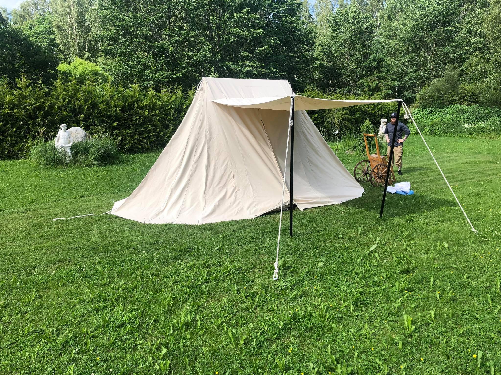 Saxon teltta, 4 x 6 m, 425 gsm