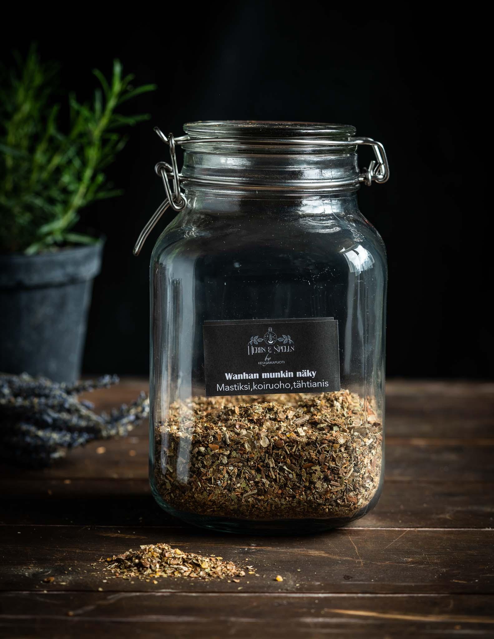 Wanhan munkin näky - suitsuke (Herbs&Spell by keskiaikapuoti)