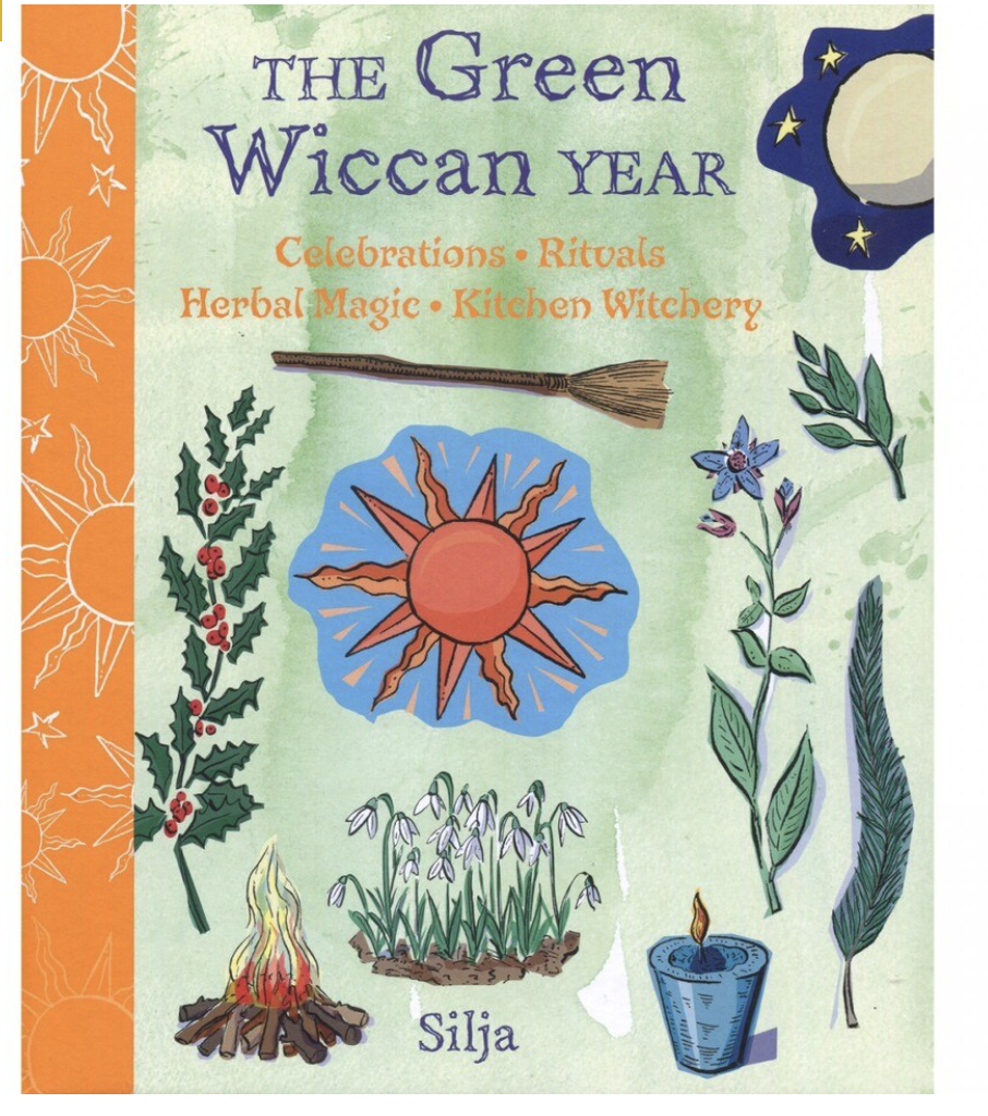 The Green Wiccan Year - Silja kirja