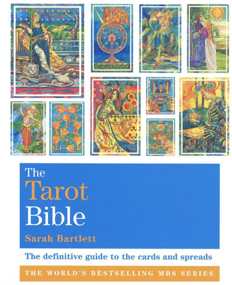 The Tarot Bible - Sarah Bartlett kirja