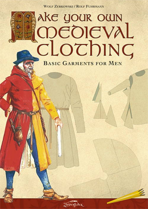 Make your own medieval clothing - Basic garments for Men - kirja (eng)